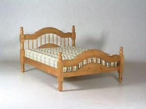 Twin oak bed