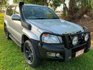 2003 Toyota Landcruiser Prado KZJ120R GXL Silver 5 Speed Manual Wagon Berrimah Darwin City Preview