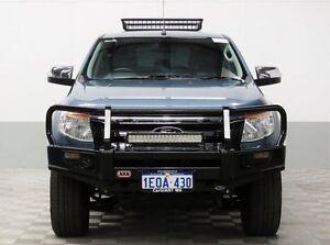 2014 Ford Ranger PX XLT 3.2 (4x4) Blue 6 Speed Manual Dual Cab Utility East Rockingham Rockingham Area Preview