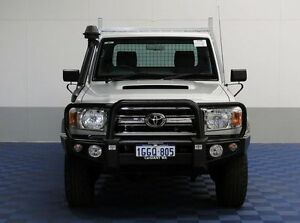 2015 Toyota Landcruiser VDJ79R MY12 Update GXL (4x4) Silver 5 Speed Manual Cab Chassis Jandakot Cockburn Area Preview