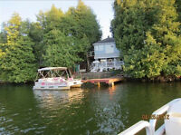 Affordable Cottage, Great Waterfront, Pontoon Boat (not for rent