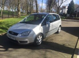 "2007 FORD FOCUS C-MAX LX 1.8 TDCI ""FULL 12 MONTHS MOT + FSH + DRIVES VERY GOOD + GREAT FAMILY CAR"""