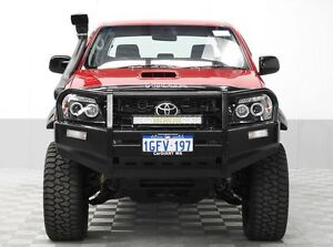 2011 Toyota Hilux KUN26R MY11 Upgrade SR (4x4) Candy Red 5 Speed Manual Dual Cab Pick-up Jandakot Cockburn Area Preview