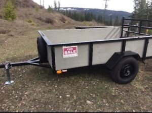 6 by 10 utility trailer in Salmon Arm