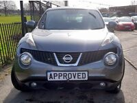 NISSAN JUKE 1.6 ACENTA 5d AUTO 117 BHP AUTOMATIC, CHOICE OF 3! (silver) 2013