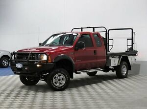 2004 Ford F250 RN XLT (4x4) Red 4 Speed Automatic Morley Bayswater Area Preview