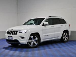 2013 Jeep Grand Cherokee WK MY14 Overland (4x4) White 8 Speed Automatic Wagon