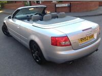 Audi A4 Cabriolet 2002 2.4Auto 77k LOW miles GREAT SUMMER CAR