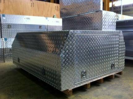 New Aluminium Canopy/ Toolbox (2360L*1760W*860H) for Sgle Cab Ute O'Connor Fremantle Area Preview