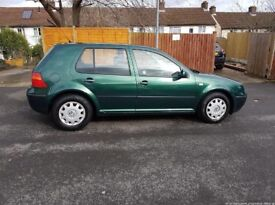 VW Golf 1.6S New MOT!