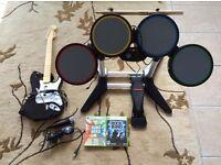 Rock Band Xbox 360 set