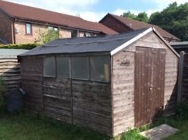 Large Garden shed 3.4x2.4x2.4