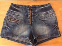 New Look High Waisted Shorts 10