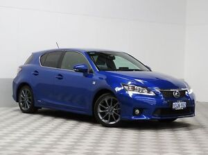 2013 Lexus CT 200H. Hybrid ZWA10R 13 Upgrade F Sport Blue Continuous Variable Hatchback East Rockingham Rockingham Area Preview