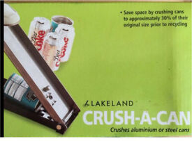 Lakeland Can Crusher - Brand New & Boxed