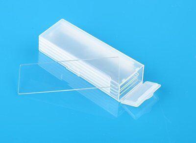 Us 5pcs Reusable Laboratorial Single Concave Microscope Blank Glass Slides 7103