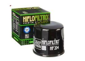 2 x Hiflo filtro HF 204 Motorcyle/Quad oil filters