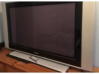 "Philips 50""Plasma TV - FOR PARTS OR could maybe be fixed"