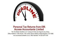 Tax Returns Specialist Qualified Chartered Accountants with Affordable price