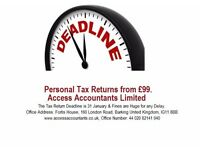 Tax Returns Specialist Qualified Chartered Accountants with Affordable prices