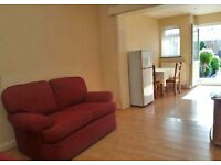 Spacious one-bed self contained ground floor flat with private garden