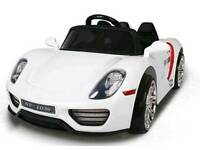Porsche style 12v brand new kids ride on electric car parental remote control