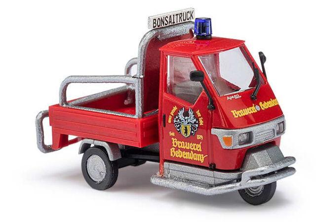Busch 48484 Piaggio Ape 50 »Brauerei« , H0 Automodell 1:87