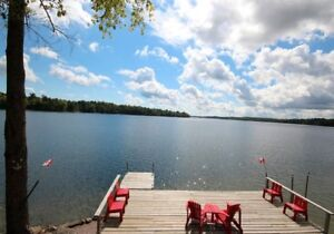 Two Bedroom Cottage for Rent - Crow Lake Ontario