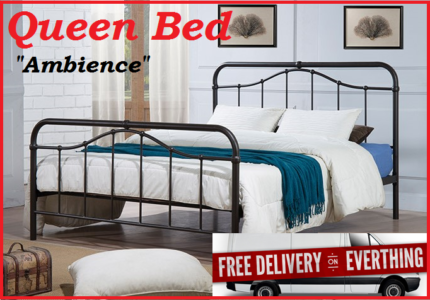 QUEEN Size Vintage Bed Frame - Brand New with FREE DELIVERY