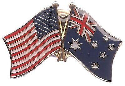 LOT OF 12 Australian Friendship Flag Lapel Pins - Australia Flag Pin