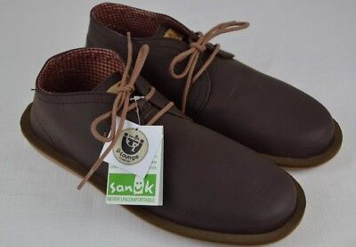 Sanuk Koda Select Chukka Vegan Leather Boot Shoes Mens Brown Comfort Casual Sanuk Mens Leather