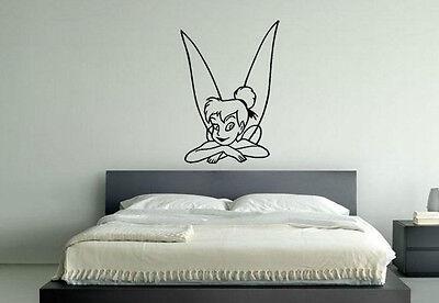 Tinkerbell Fee Disney Kinderzimmer Kinder Schlafzimmer Aufkleber Wandkunst Dekor