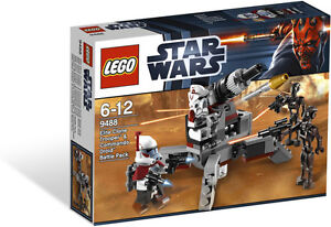 LEGO-Star-Wars-Elite-Clone-Trooper-Commando-Droid-Battle-Pack-9488-NEW