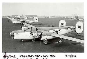 RAF-signed-photo-B-24-Liberator-signed-U-boat-Hunter-BULLOCH-DSO-DFC-AA1