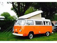 VW Camper T2 Westfalia Tax Exempt 1972