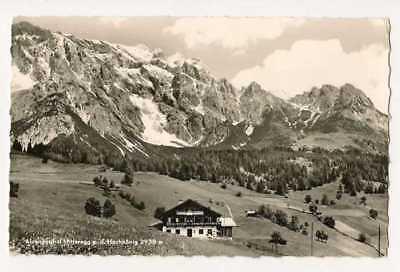 AKMitteregg Hochkönig Österreich  gelaufen 60er Jahre