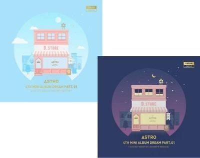 ASTRO [DREAM PART.01] 4th Mini Album 2Ver SET 2CD+2ea F.Buch+8p FotoKarte SEALED