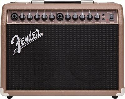 "Fender Acoustasonic 40 Watt 2x6"" Combo Acoustic Guitar Amplifier"