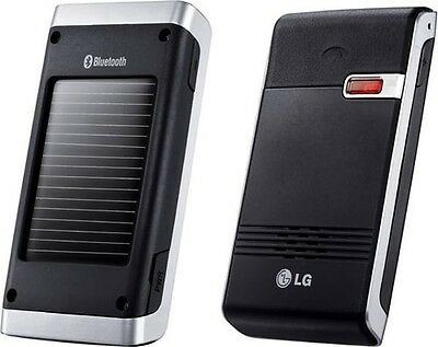 LG Solar Powered Bluetooth SpeakerPhone Car Kit Portable Speaker HFB-500