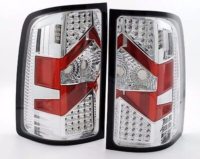 TIFFIN ALLEGRO 2013 2014 201 PAIR CHROME LED TAIL LAMPS TAILLIGHTS REAR RV - SET
