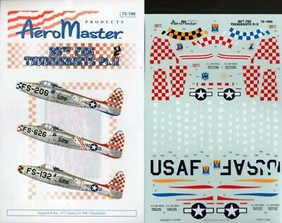 Aero Master Decals 1:72 86th FBG Thunderjets Pt. II 72-196