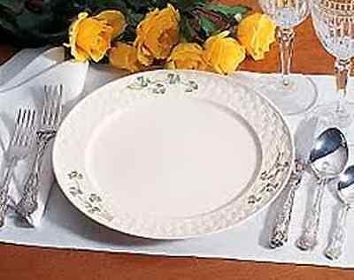Belleek Shamrock Tableware 40Pc Set, Service for 8