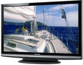 Panasonic 50 inch HD TV, Freeview & Freesat built in 3 x HDMI not 42 43 46 48 49 May Deliver Locally
