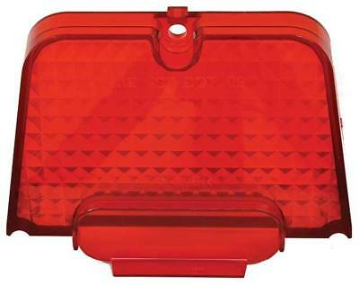 1962-64 Chevy Nova Tail Lamp Lens - Red, Imported New