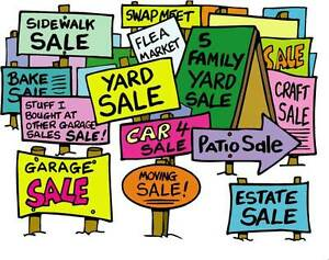 City Wide Garage Sale !!