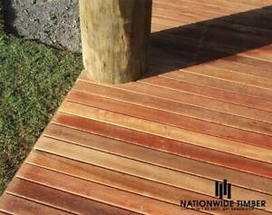 SPOTTED GUM DECKING 64x19MM