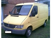 Left Hand Driver Mercedes sprinter 208d swb