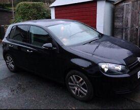 Black VW Golf TSI