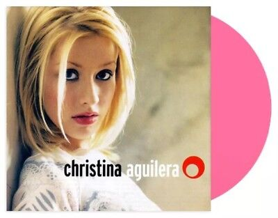 Christina Aguilera UO Exclusive Pink Vinyl LP Limited/2000 New & Sealed SOLD OUT