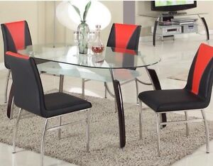Brand new 5 pc dinette set on sale $698 only+FREE DELIVERY  Regina Regina Area image 4